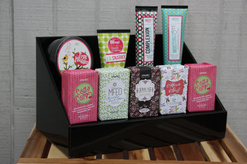 Perfectly Posh Black Stack Display
