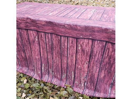 FITTED TABLE COVER - RUSTIC RED