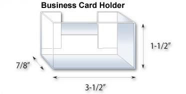StackDisplays Business card Holder