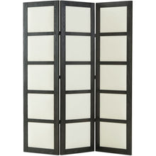 "Load image into Gallery viewer, LEE 80"" Black & White Oak Screen"
