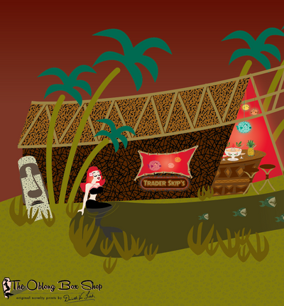 Monster Tiki Island Desktop Wallpaper FREE Download