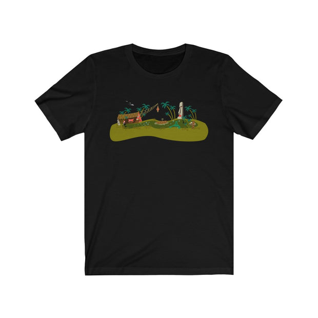 Monster Tiki Island Crew Neck T