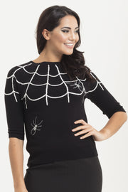 Ophelia Spiderweb Sweater