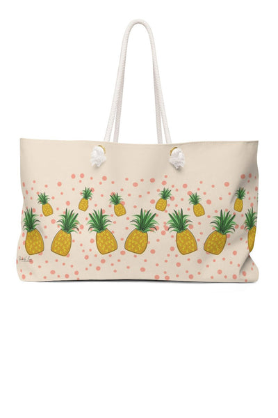 Pineapple Smoothie Weekender Bag (1600695435319)
