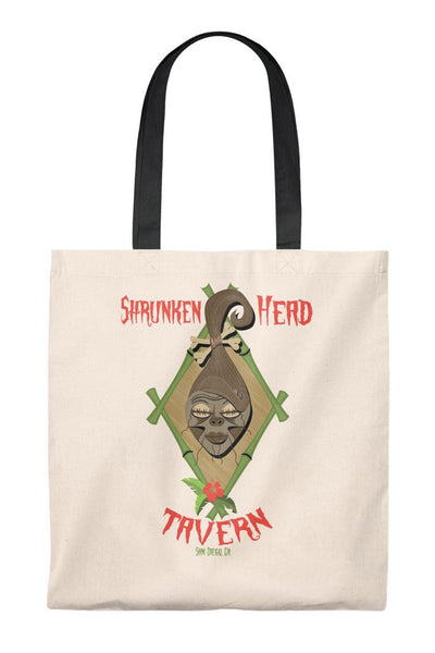 Shrunken Head Tavern Tote Bag
