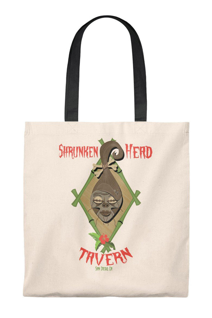 Shrunken Head Tavern Tote Bag (1593668370487)