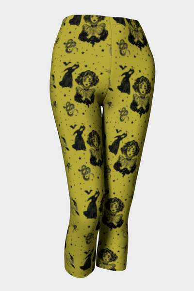 Mystic Madness Capris Leggings - The Oblong Box Shop