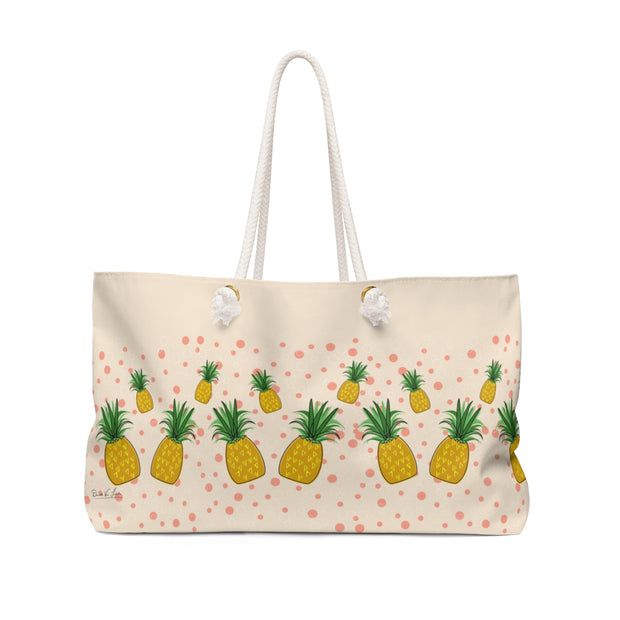 Pineapple Smoothie Weekender Bag