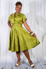 Un-Corked Circle Skirt Green