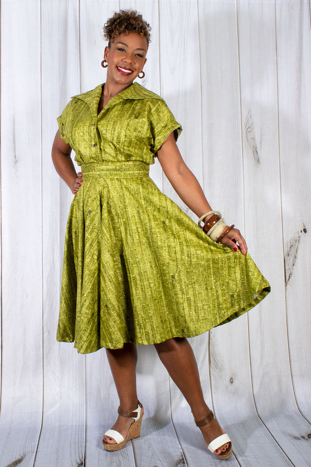 Un-Corked Circle Skirt Green (1603679289399)