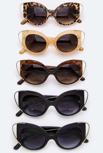 Stay Gold Ponygirl Sunglasses