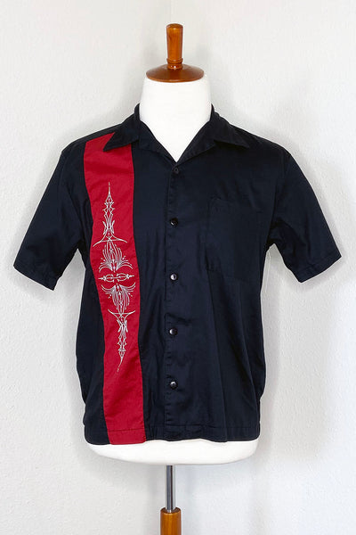 SAMPLE - Hot Rod Pinstripe Men's Button Down Shirt by The Oblong Box Shop (4308179812407)