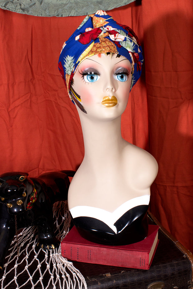 Swirling Turban in Pineapple Party by TOBS