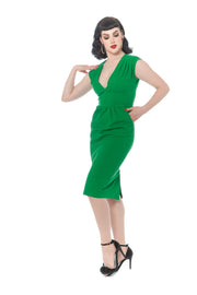 Green with Envy Wiggle Dress (1622427172919)