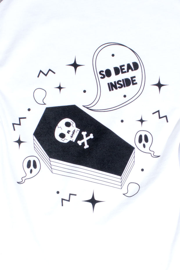 So Dead Inside Raglan T