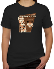 Sneaky Tiki Women's Fitted T