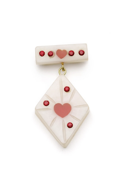 Secret Admirer Starburst Brooch - The Oblong Box Shop