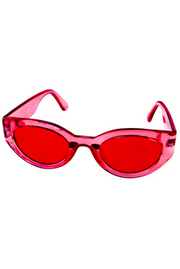 Sea Through Cat Eye Sunglasses