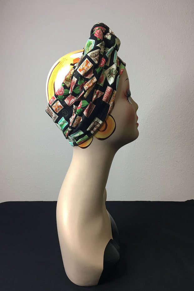 Swirling Turban in Tiki Travels by TOBS
