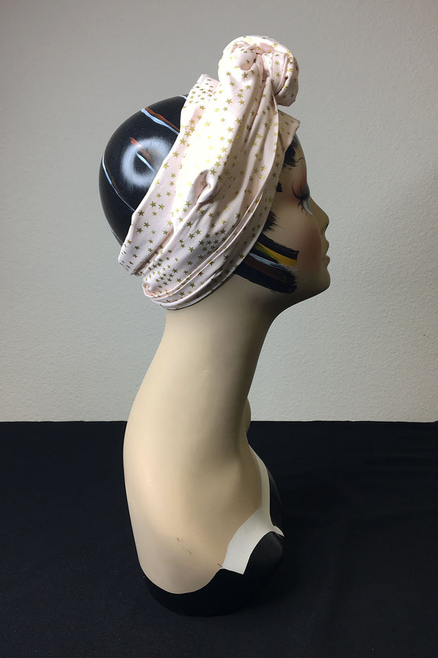 Swirling Turban in Ziegfeld Follies in Black or Pink by TOBS (1563598454839)