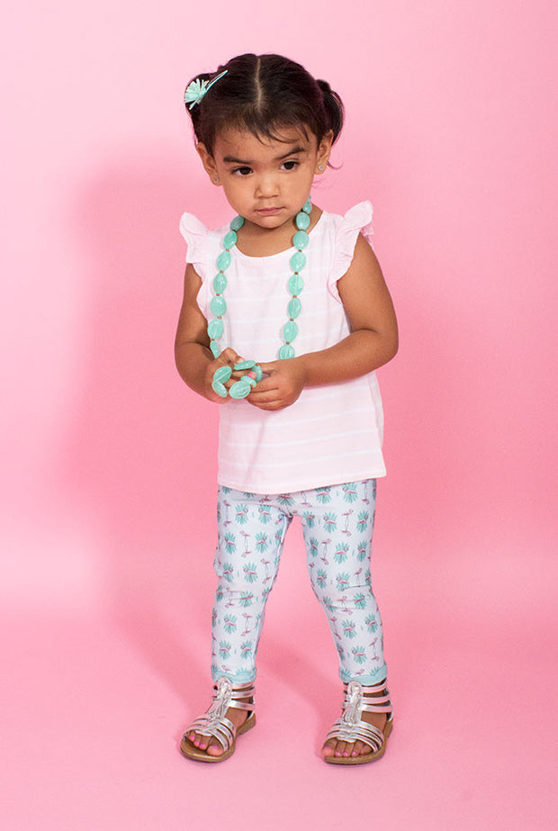 Pink Flamingo Kids Leggings