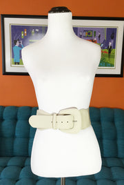 Vanilla Latte Wide Belt