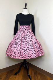 SAMPLE - Bat Those Lashes Circle Skirt by The Oblong Box Shop (1627022229559)