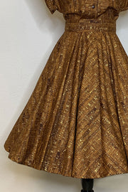 Un-Corked Circle Skirt Brown