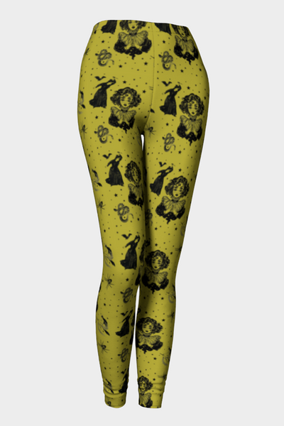 Mystic Madness Long Leggings - The Oblong Box Shop