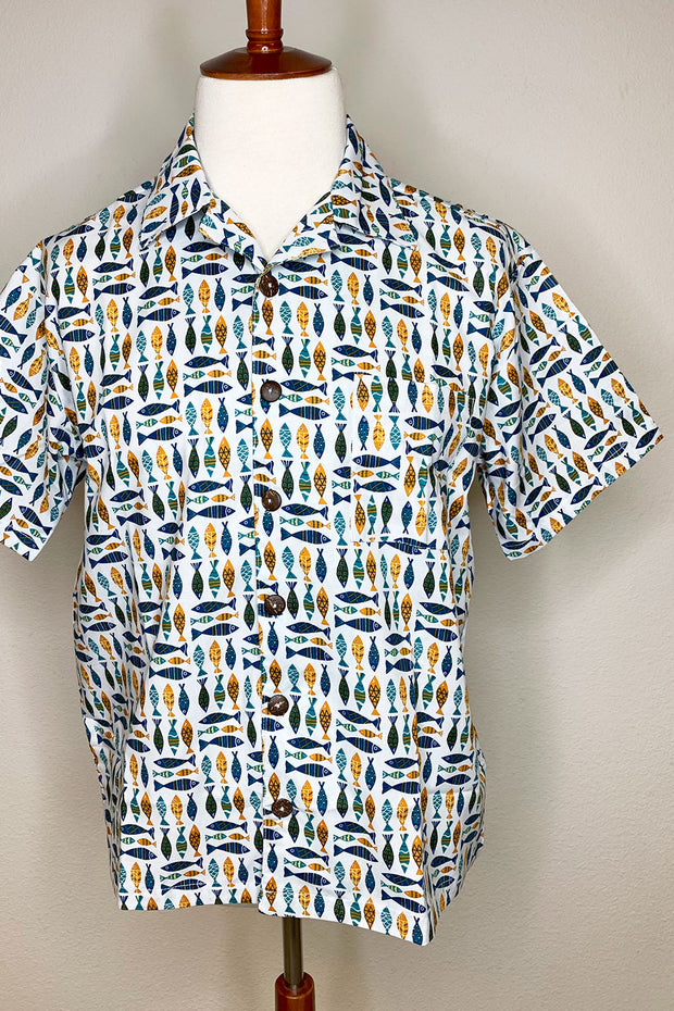 School Of Fish Button Down Shirt