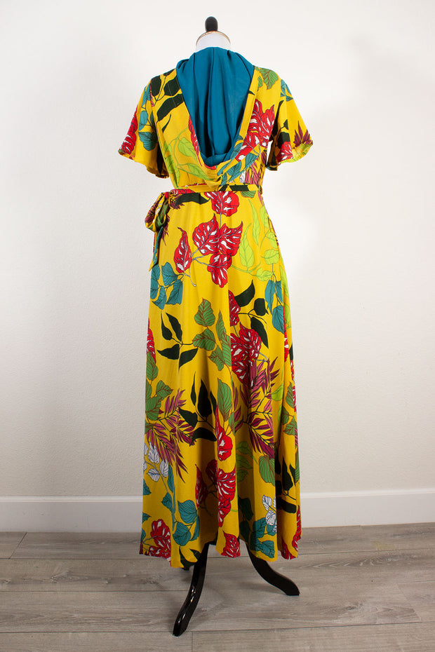 The Galapagos Affair Veronica Hooded Wrap Dress (1643570462775)