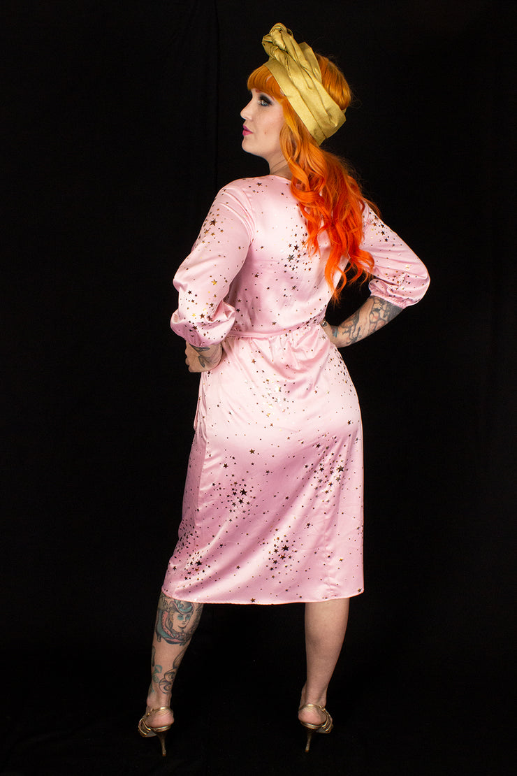 Gold Dust Woman Dress Pink - PRE-ORDER