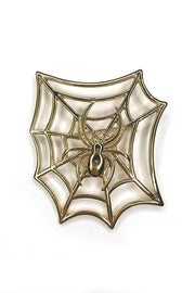 Spiderweb Brooch