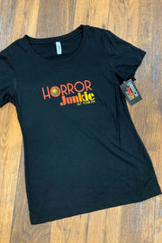 Horror Junkie Fitted Ladies T by Horror Junkie (1711962751031)