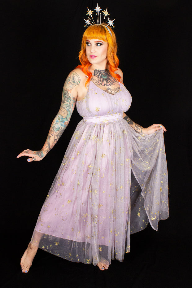 Celestial Dreams Maxi Dress Lavender Celestial - PRE-ORDER