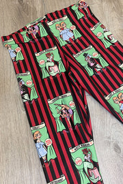 Sideshow Sweeties X Coppertop Ink Collab Capris Leggings