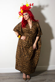 Lovely Leopard Lady Caftan LONG