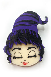 Mary Hocus Pocus Brooch by Daisy Jean Floral
