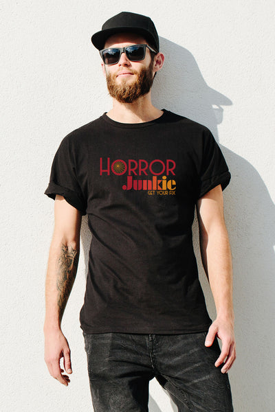 Horror Junkie Men's T by Horror Junkie (1711962128439)