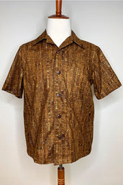 Un-Corked Button Down Shirt Brown