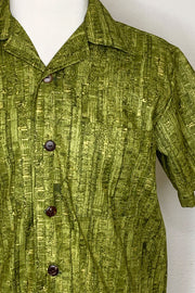 Un-Corked Button Down Shirt Green