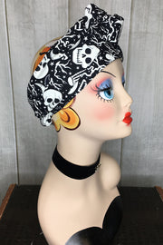Swirling Turban in Mystic Print (Glow in the Dark) by TOBS