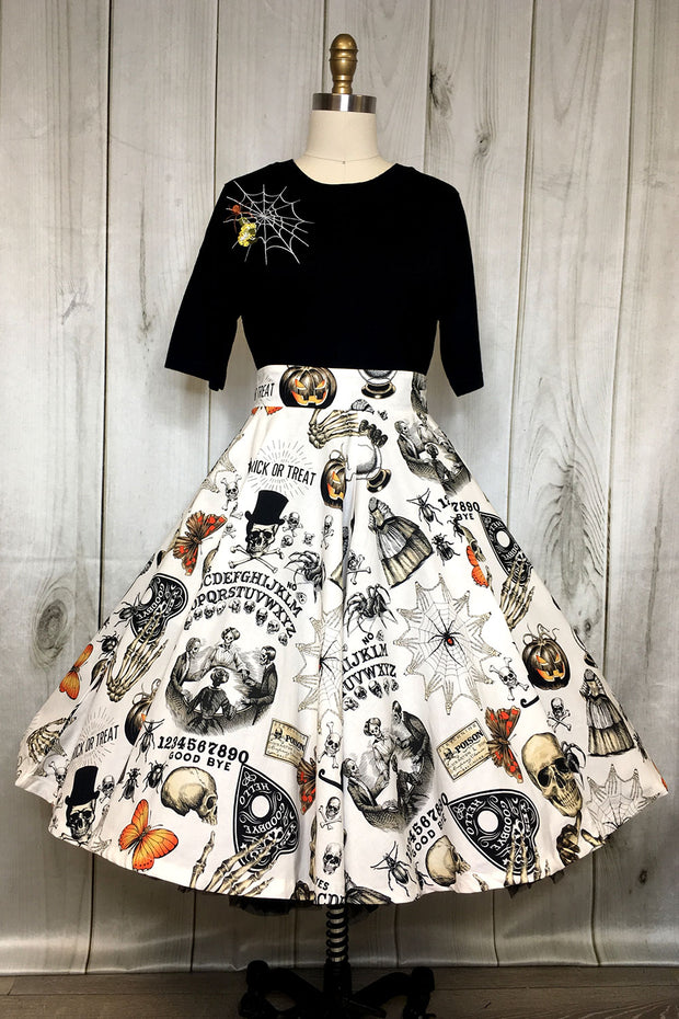 Mystic Madness Circle Skirt by The Oblong Box Shop