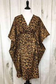 Lovely Leopard Lady Caftan SHORT