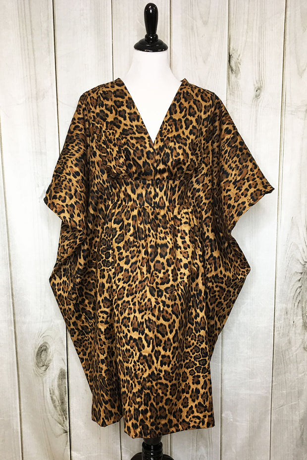 Lovely Leopard Lady Half-tan SHORT (1436261089335)
