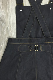 Thread & Mitre Denim Short Overalls