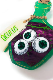Oculus Eyeball Potion Brooch by Daisy Jean Floral