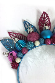 Ornament Fairy Blue and Purple Holiday Crown (76677840904)