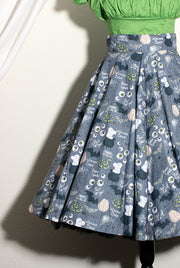 I Put A Spell On You Circle Skirt by The Oblong Box Shop