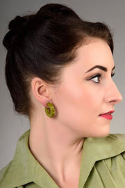 Imogen Fakelite Hoop Earrings